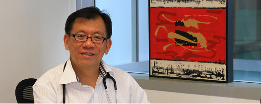 Dr Leong Hoe Nam of Rophi Clinic, Singapore